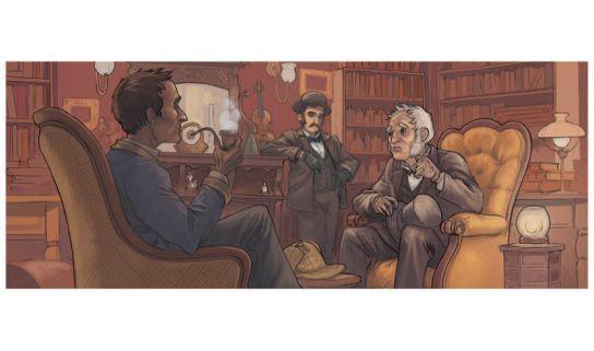bureau Sherlock couleur