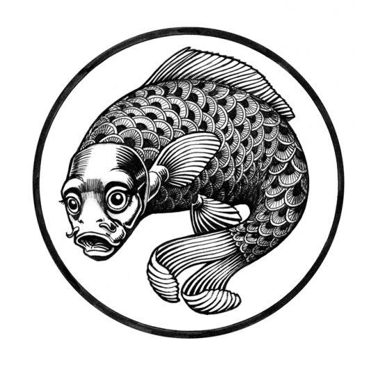 Cabochon Femme sans tête