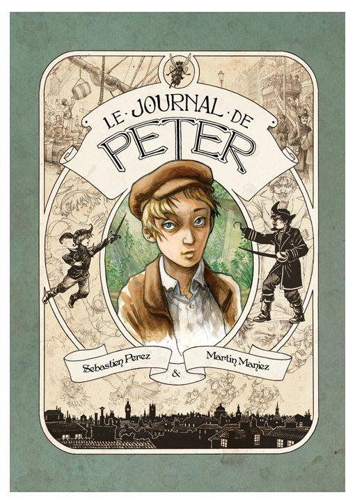 Le journal de Peter Couverture