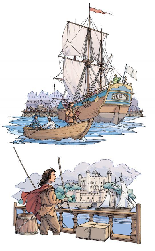 D'artagnan, le voyage à Londres