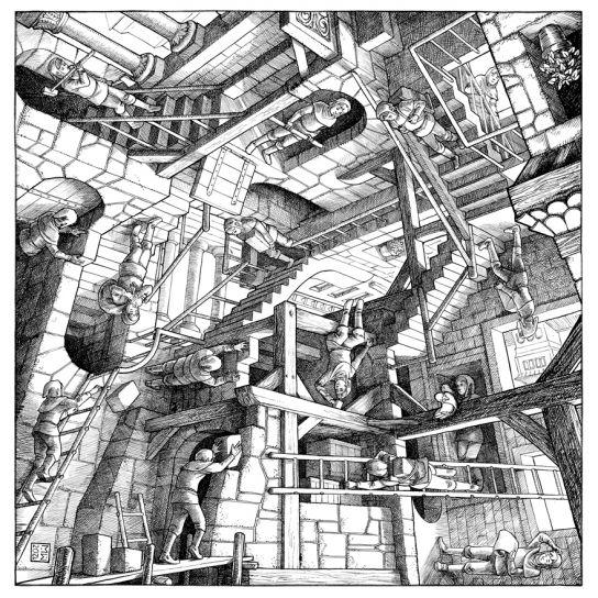 Hommage Escher
