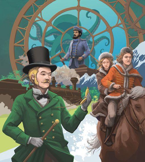 Les Héros de Jules Verne