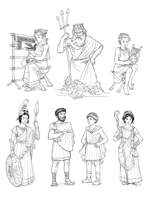Personnages Odyssée