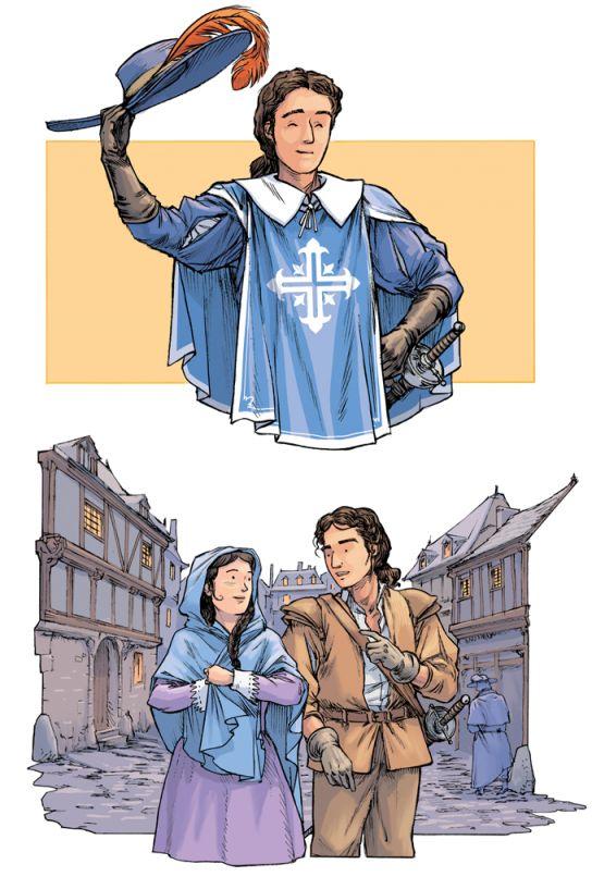 D'Artagnan et Constance