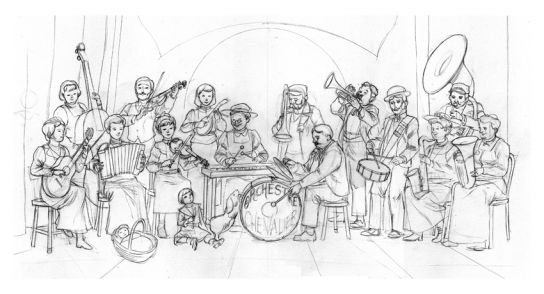 famille orchestre