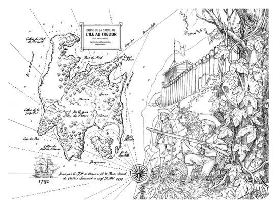 Carte Ile au Tresor