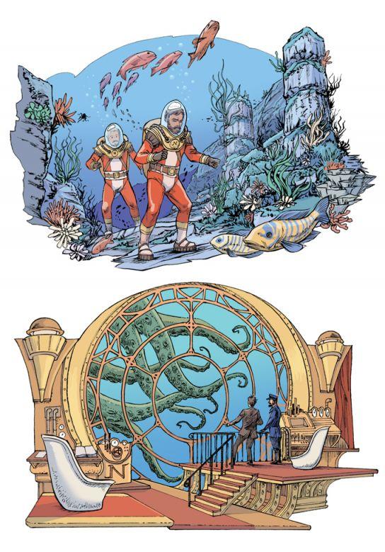Jules Verne. 20000 lieues sous les mers
