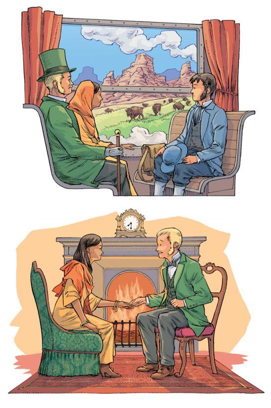 Jules Verne Le tour du monde en 80 jours (2)