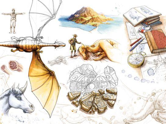Montage Dragons